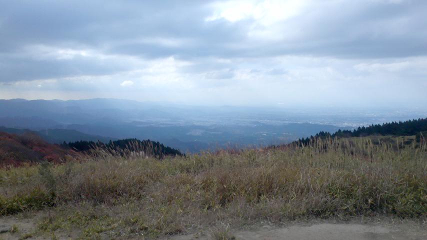 葛城山から見た大和盆地